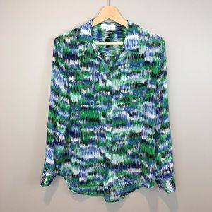 Two by Vince Camuto Ikat Top Size M